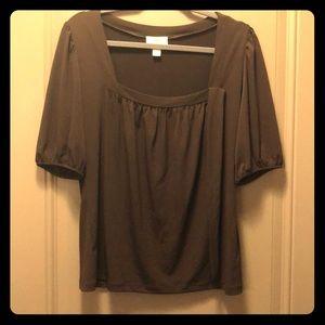 Loft Brown Shirt